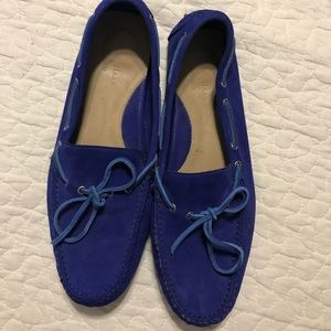 Cole Haan Bright Blue driving loafer- 11M